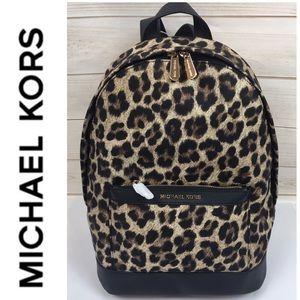 Michael Kors Morgan Cheetah Print Backpack